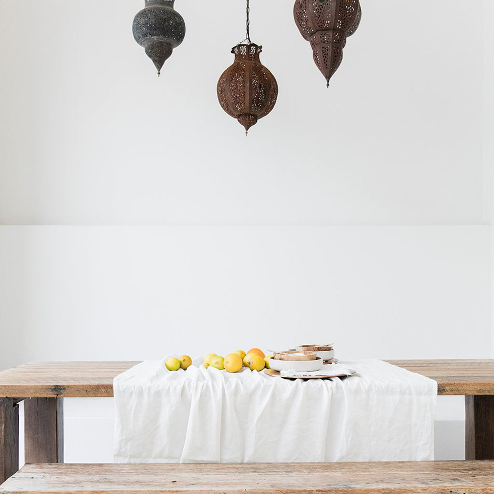Linen Tablecloth- Off White