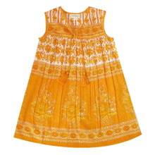 Load image into Gallery viewer, Little Luna Dress- Sleeveless Marigold