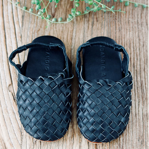 Little Gypsy Sandals- Black