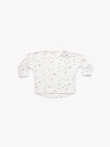 Quincy Mae - LS Baby Tee - Ivory