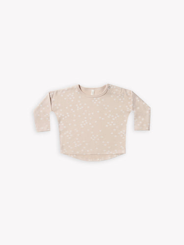 Quincy Mae Long Sleeve Tee - Rose