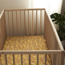 Load image into Gallery viewer, Banabae Organic Bamboo Fitted Cot Sheet - Love Child