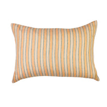 Load image into Gallery viewer, Sage & Clare Mathilde Stripe Pillowcase Set - Cantaloupe