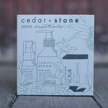 Load image into Gallery viewer, Cedar & Stone- Men's Essentials Pack