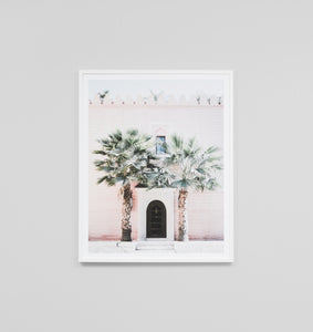 Framed Print- Moroccan Entrance