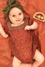Load image into Gallery viewer, Arnhem Natassia Baby Romper - Rooibos