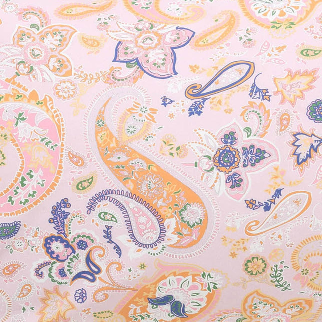 Kip & Co Paisley Cotton Fitted Cot Sheet