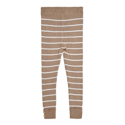 Miann & Co - Praline Stripe Rib Leggings