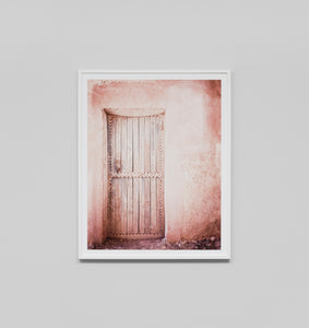 Framed Print- Pink Door 3