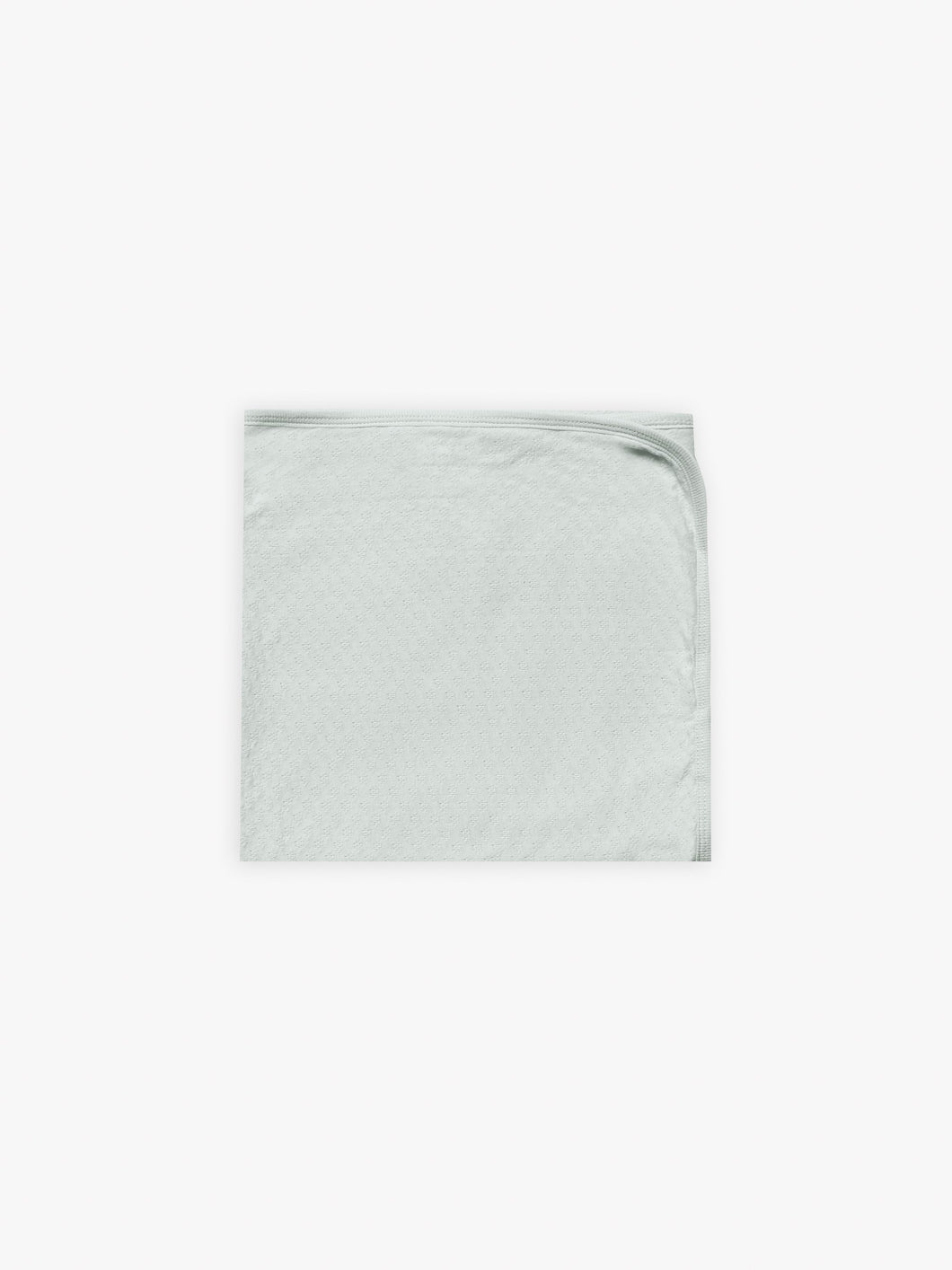Quincy Mae Pointelle Baby Blanket - Sea Glass