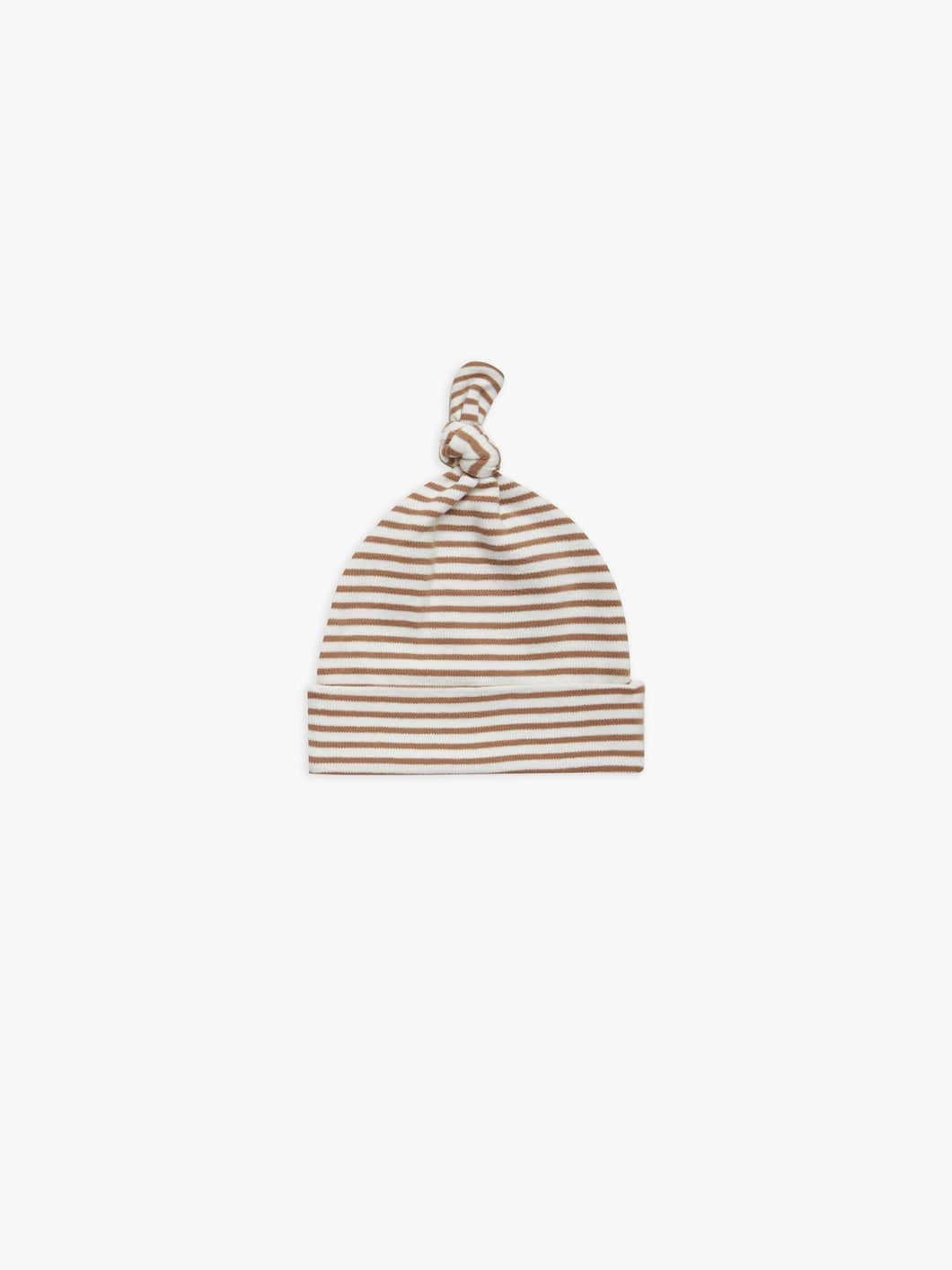Quincy Mae Baby Hat - Rust Stripe