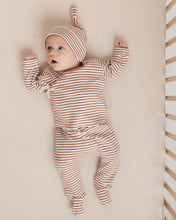 Load image into Gallery viewer, Quincy Mae Baby Hat - Rust Stripe