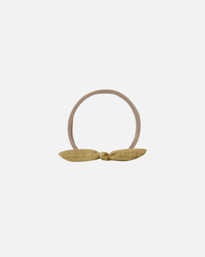 Quincy Mae Little Knot Headband - Ocre