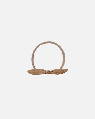 Quincy Mae Little Knot Headband - Rust