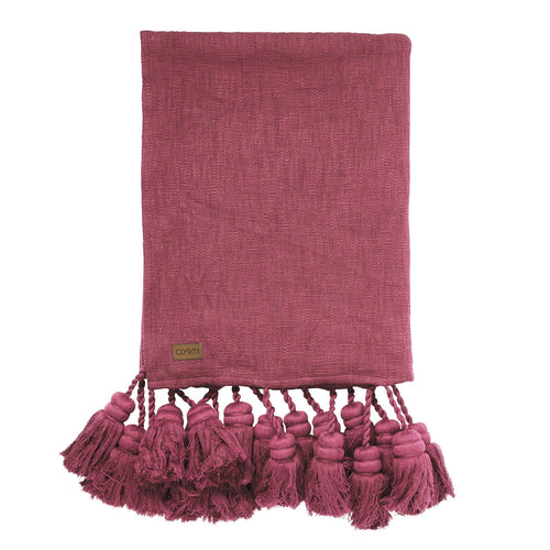 kip & Co Peony Tassel Throw