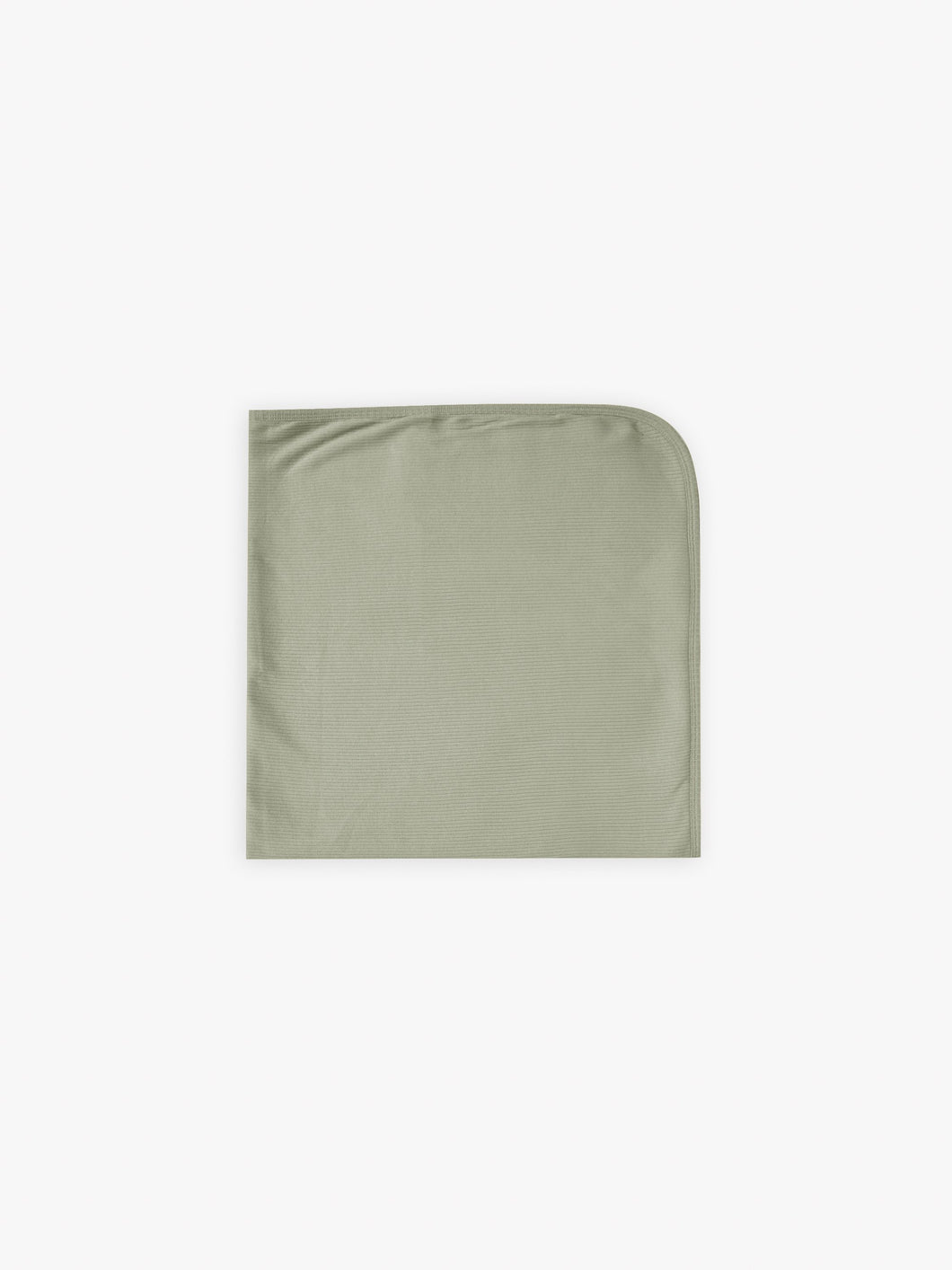 Quincy Mae Ribbed Baby Blanket - Moss