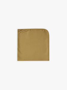 Quincy Mae Ribbed Baby Blanket - Ocre