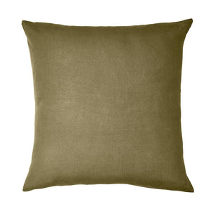 Sage & Clare- Linen Euro Pillowcase Set- Moss
