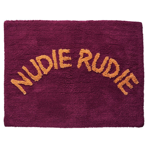 Sage & Clare Tula Nudie Bath Mat - Boysenberry