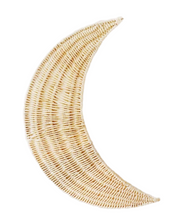 Load image into Gallery viewer, Rattan Wall Hanger - Moon