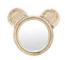 Load image into Gallery viewer, Rattan Mirror - Bear