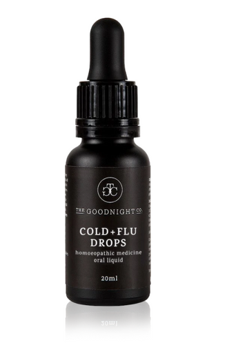 The Goodnight Co. Homeopathic Tincture - Cold + Flu