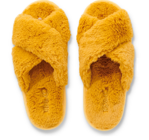 Kip & Co - Sunshine Yellow Adult Slippers