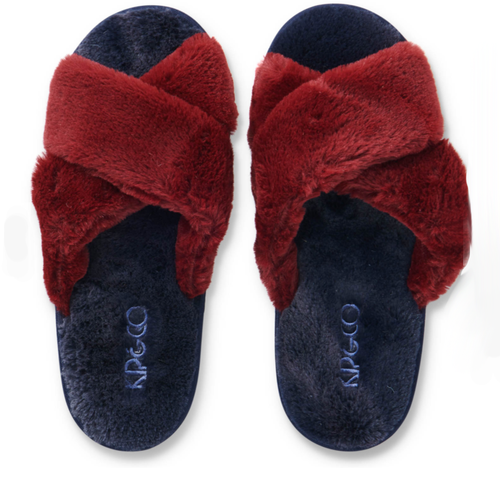 Kip & Co - Midnight Merlot Adult Slippers
