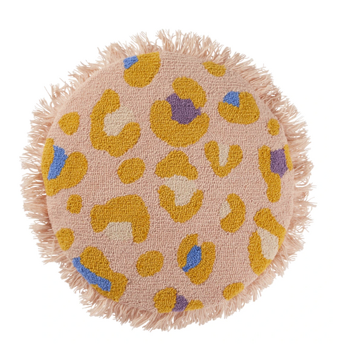 Sage & Clare Hilaire Needle Punch Cushion - Peach