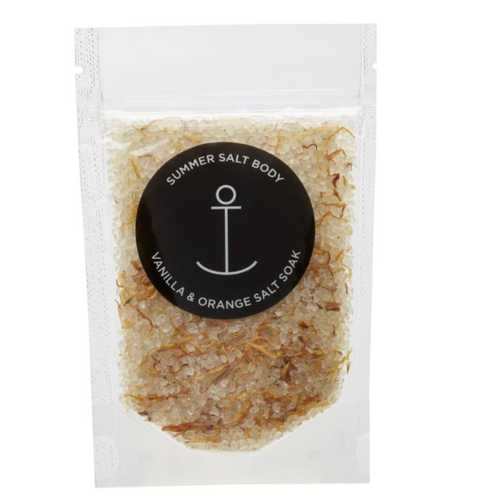 Summer Salt Body Mini Salt Soak - Vanilla & Orange