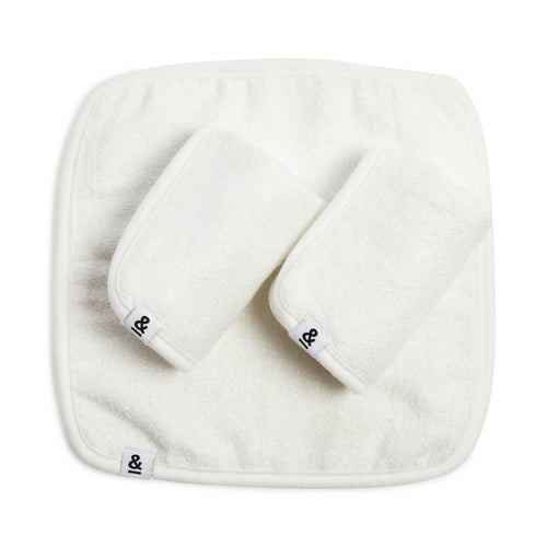 Seed & Sprout Bamboo Face Cloth -  Set of 3