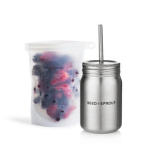 Load image into Gallery viewer, Seed & Sprout Stainless Steel Smoothie Cup