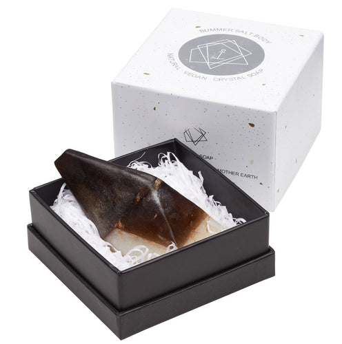 Summer Salt Body Smoky Quartz Crystal Soap