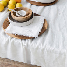 Load image into Gallery viewer, Linen Tablecloth- Off White