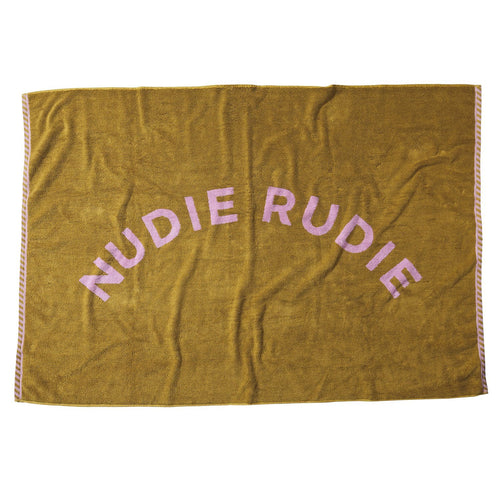 Limited Edition Sage & Clare Taffy Nudie Towel - Pear