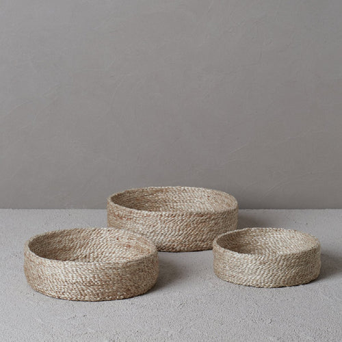 The Dharma Door- Trio Of Round Baskets