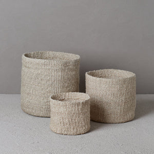 The Dharma Door- Woven Pot- Large