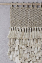 Load image into Gallery viewer, The Dharma Door- Jute Wall Hanging w/ Tassels