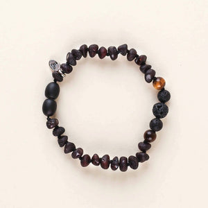 Tiny Healer Tiger Eye Oil Diffuser Soothing Anklet/Bracelet- 18cm