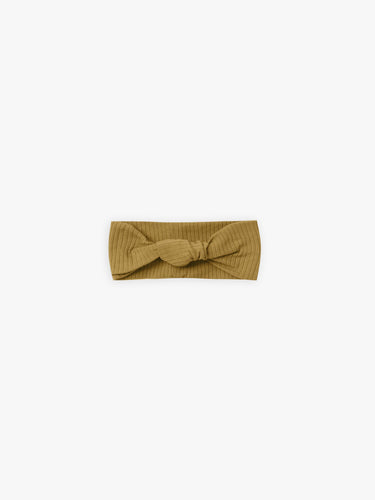 Quincy Mae Baby Turban - Ocre