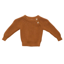 Load image into Gallery viewer, Two Darlings Rust  Sweater