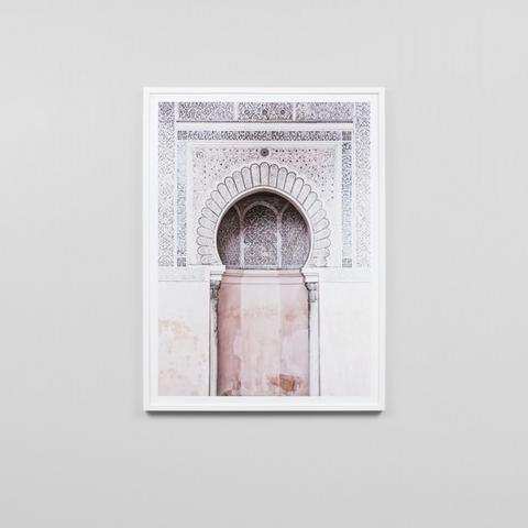 Framed Print- Moroccan Arch