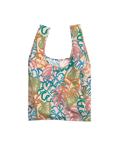 The Somewhere Co. Reusable Bag - Wild Monstera