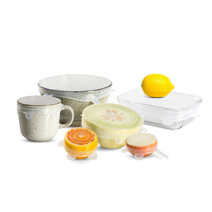 Seed & Sprout Reusable Stretch Lids Set