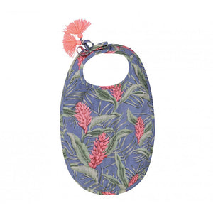 Louise Misha - Etita Bib - Lagoon Leaves