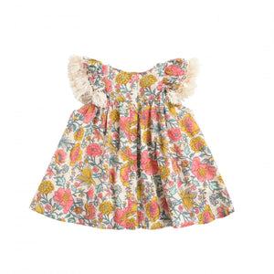 Louise Misha - Costa  Dress- Multi Flowers