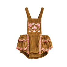 Load image into Gallery viewer, Louise Misha Romper - Camel