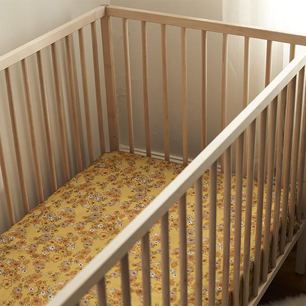 Banabae Organic Bamboo Fitted Cot Sheet - Love Child