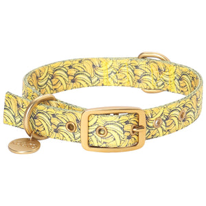 Kip & Co - Bananas Dog Collar