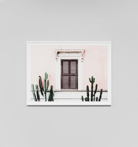 Framed Print- Blush Villa